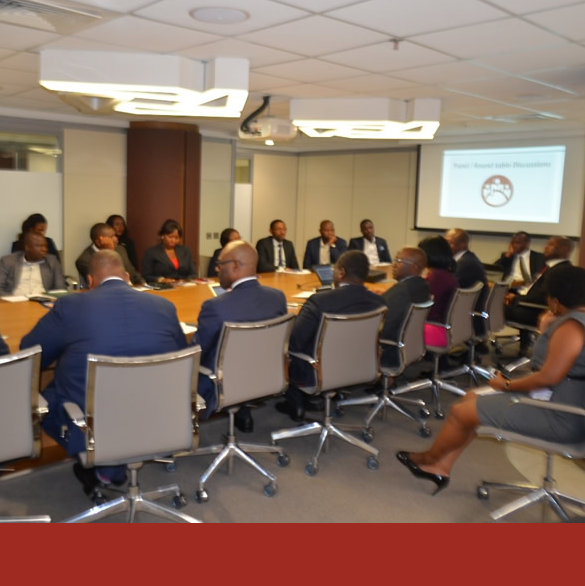 A Closed-door Session on the CBN export … held at Templars Law