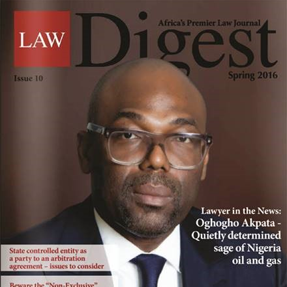 Law Digest: Cover interview with Managing Partner of Templars