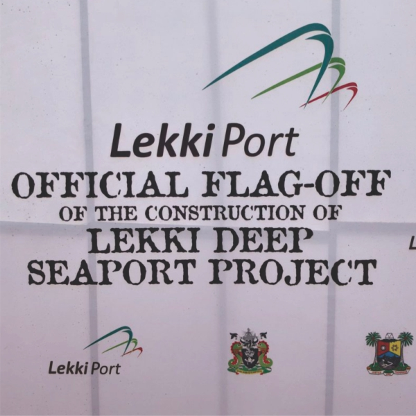 Templars joins client Lekki Port LFTZ Enterprise at the official flag off ceremony for construction of the Lekki Deep Sea Port Project.