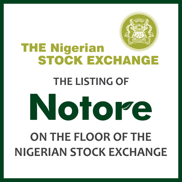Templars advises Notore on its Listing by Introduction on the Nigeria Stock Exchange