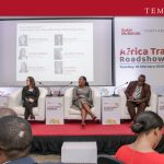 (L-R: Virusha Subban, Partner and Head of Indirect Tax, Baker McKenzie; Kerry Contini, Partner, International Trade Practice Group, Baker Mckenzie; Ijeoma Uju, Partner, Corporate & Commercial, Templars; Professor Jonathan Aremu, Professor of International Economic Relations, Covenant University and Jesuseun Fatoyinbo, Head of Trade, Stanbic IBTC Plc during the panel discussion on issues affecting trade across Africa)
