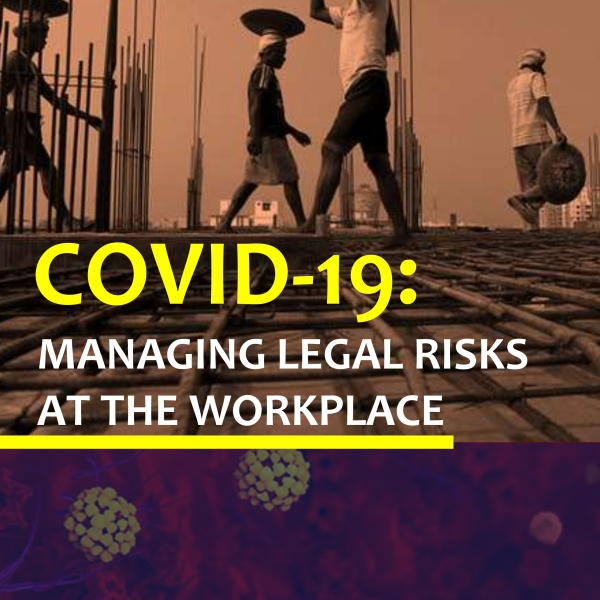 Templars Thought Leadership: COVID-19; Managing Legal risks at the Workplace