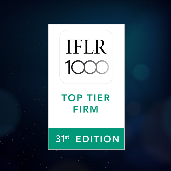 TEMPLARS Receives Notable Rankings in the 31st Edition of IFLR 1000